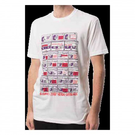 ALTAMONT T-Shirt VIDEO TAPES white