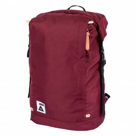 POLER Bag ROLLTOP PACK burgundy