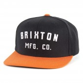 BRIXTON Cap ARDEN, black/orange