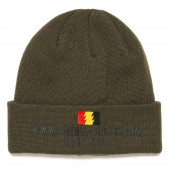 THE HUNDREDS Beanie SITE, olive