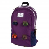 POLER Bag CLASSIC DAY PACK, purple