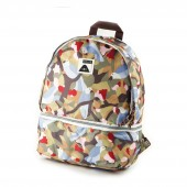 POLER Bag WILDWOOD CAMERA BAGPACK, birdy print