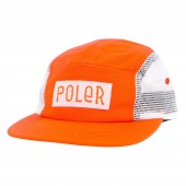 POLER Cap LINEUP CAMPER, burnt orange