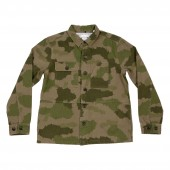 POLER Jacket THE BUCK Shirtjacket, green furry camo