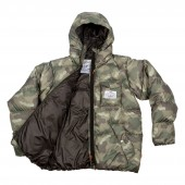 POLER Jacket BURNER, green furry camo