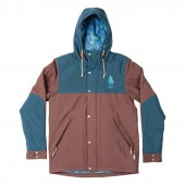 POLER Jacket SCOUT brown stone/blue steel