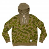 POLER Sweat BAG-IT Hood, green furry camo