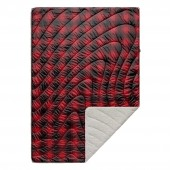 RUMPL Blanket SHERPA PUFFY PRINTED / 1 PERS, ombre plaid
