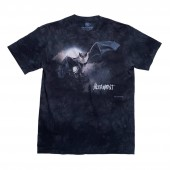 ALTAMONT T-Shirt ALTAMONT x THE MOUNTAIN S/S grey skull wash