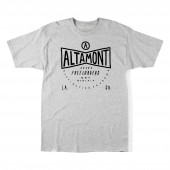 ALTAMONT T-Shirt FREE DESTINATION S/S grey/heather