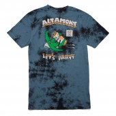 ALTAMONT T-Shirt LETS PARTY ash