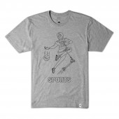 ALTAMONT T-Shirt SPORTS FAN grey/heather