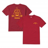 EMERICA T-Shirt ALOHA red