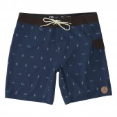 HIPPYTREE Boardshort MOTIF TRUNK navy