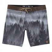 HIPPYTREE Boardshort TREETOP TRUNK charcoal