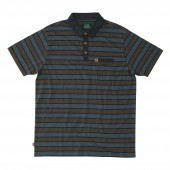 HIPPYTREE Polo FONTANA heather black