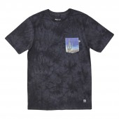 HIPPYTREE T-Shirt SAGUARO CLOUD WASH asphalt