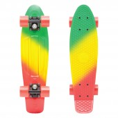 PENNY Complete 22 FADES SERIES Skateboard, green/yellow/red (jammin) One Size
