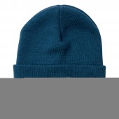 POLER Beanie SUMMIT LABEL, petrol blue