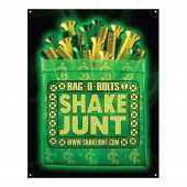 """SHAKE JUNT Banner Bag O Bolts 3,5"" x 4,5"", green -"""