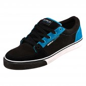 WORLD IND. Shoe WORKHOUSE LOW black/cyan schwarz