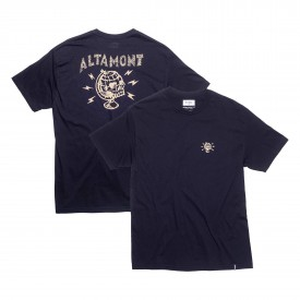 ALTAMONT T-Shirt GLOBAL S/S CUSTOM black