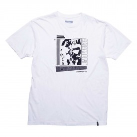 ALTAMONT T-Shirt SMOKED S/S white
