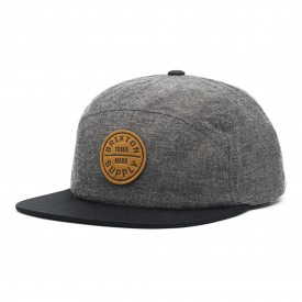 BRIXTON Cap OATH 7 Panel, charcoal/black
