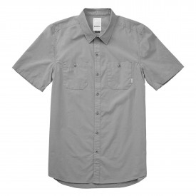 EMERICA Shirt DETENTION S/S WOVEN, dusty  blue