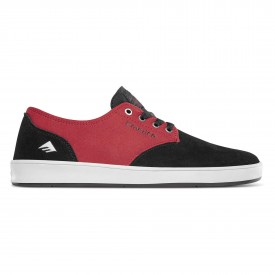 EMERICA Shoe THE ROMERO LACED bla/red/whi, black/red/white