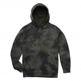 EMERICA Sweat PRESSURE HOODED FLEECE, black/dark grey