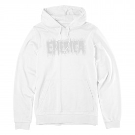 EMERICA Sweat SCANNER HOODED FLEECE, white