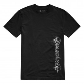 EMERICA T-Shirt SPIKED S/S, black