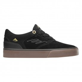EMERICA Youths Shoe REYNOLDS LOW VULC bla/gum, black/gum