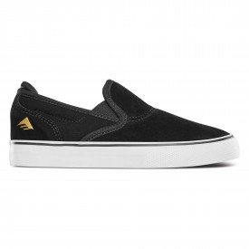 EMERICA Youths Shoe WINO G6 SLIP-ON bla/whi/gol, black/white/gold