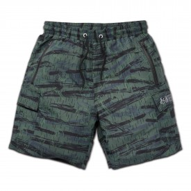 eS SKB Pant Short COURT CARGO WALKSHORT, olive/black