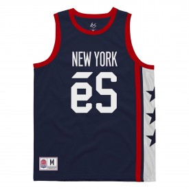 eS SKB T-Shirt NY COURTSIDE JERSEY, navy
