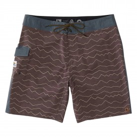 HIPPYTREE Boardshort RIDGEPOINT Trunk, rust