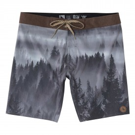 HIPPYTREE Boardshort TREETOP TRUNK, charcoal