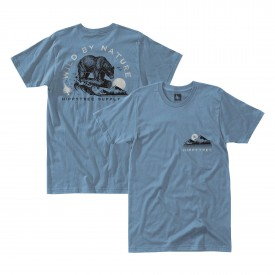 HIPPYTREE T-Shirt LOGGIN blue