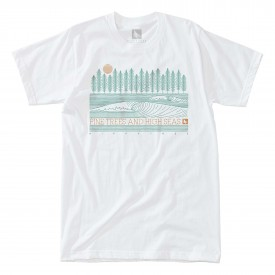 HIPPYTREE T-Shirt PINELINE white