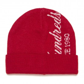 THE HUNDREDS Beanie ROLL UP, red