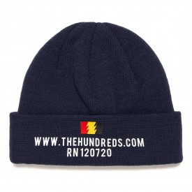 THE HUNDREDS Beanie SITE, navy