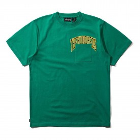 THE HUNDREDS T-Shirt TACKLE Knit, green