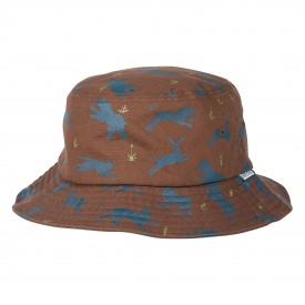 POLER Hat BUCKET, campalogue brown stone