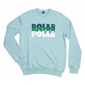 POLER Sweat LEVELS CREW stratosphere acid