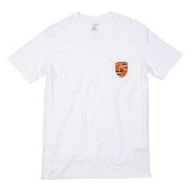 POLER T-Shirt POLERSCHE POCKET white
