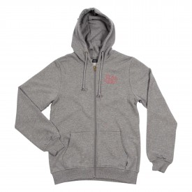POLER Womens Zip Up DREAMS Hood heather grey