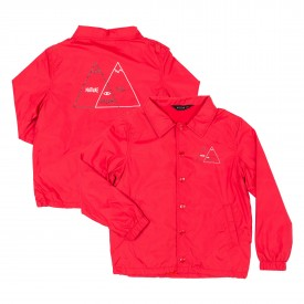POLER Youths Jacket VENN COACHES, reddish