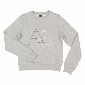 POLER Youths Sweat VENN CREW, gray heather